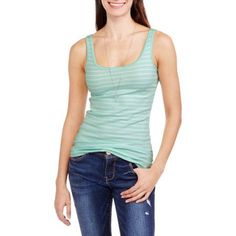 Faded Glory Women's Essential Knit Layering Tank