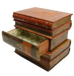 Book Dreaming Jewelry Box Journals For my room Pinterest