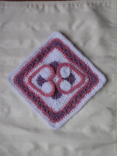 Ravelry: Heart to Heart Afghan Block free crochet pattern by Julie Yeager