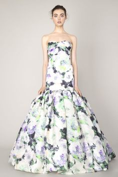 Unique Chic Floral Wedding Dresses. I wouldn't wear it as a wedding dress I worked hard for my white