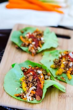 Quinoa pilaf, Lettuce cups and Quinoa on Pinterest