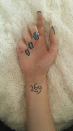 veganshaven: My 269 life tattoo