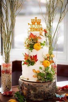Fall Wedding Cake by Cake! By Jennifer Riley
