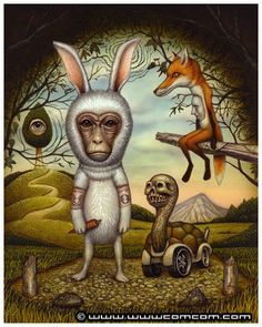 ✯ The Hare and the Tortoise .. Artist Naoto Hattori✯