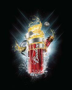 Budweiser Aluminium by Juan Pablo Alvarez Quiroga, via Behance