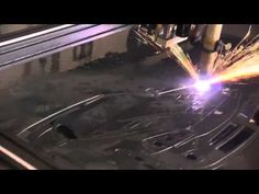 Lightning CNC Plasma Router Table Cutting Dodge Viper from 1/8 Steel