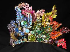 David Mandel's tiaras The Show Must Go On  See Next Image for Matching Necklace