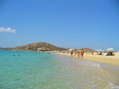 Agios Prokopios #beach on #Naxos island. Just amazing clear waters!