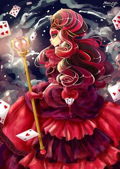 Ever After High- Lizzie Hearts daughter of The Queen of Hearts