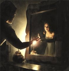 Look at your face in the Mirror...  and I'm there inside. (The Mirror) - The Phanton of the Opera ~ Foto: Mônica Fadul - https://www.flickr.com/photos/nika_fadul/2531090439