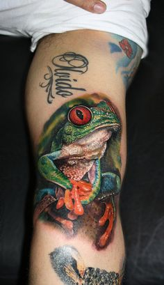 japanese frog tattoo - Google Search