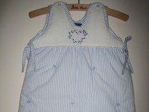 Baby-Schlafsack handbestickt 3-6 Monate