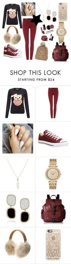 """#countdown till Christmas..."" by pinkbaby000 ❤ liked on Polyvore featuring Lipsy, AG Adriano Goldschmied, Converse, Feathered Soul, Michael Kors, Roberto Coin, Kenneth Cole Reaction, UGG Australia, Casetify and Chicnova Fashion"