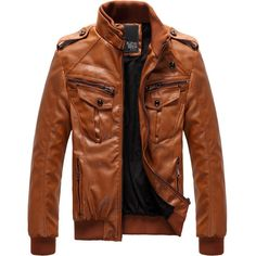 2012-fashion-Classic-Men-s-PU-Leather-Coat-jacket-2-Colors-5-Sizes-Black-Brown-M.jpg (JPEG Image, 800 × 800 pixels) - Scaled (74%) - Polyvore