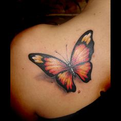 Butterfly Tattoo Meanings | iTattooDesigns.com Butterflies are symbols of love and spirituality, and are often associated with rebirth and resurrection.