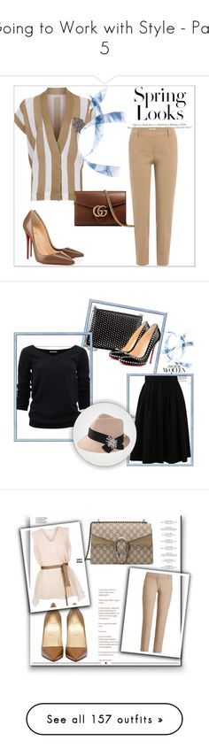 """""""Going to Work with Style - Part 5"""" by miriam83 ❤ liked on Polyvore featuring H&M, Haute Hippie, Whiteley, Ilia, Ultimate, Yoco Nagamiya, Brewster Home Fashions, Guerlain, Burberry and Kenneth Cole"""