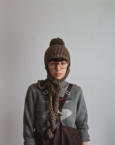 The English Thompson Hat in Graham Cracker Crust by Yokoo on Etsy, $55.00