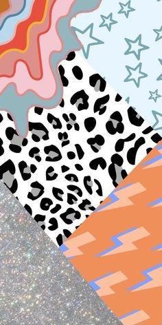 Wallpaper Collage, Wallpaper Free, Iphone Wallpaper Vsco, Homescreen Wallpaper, Cute Patterns Wallpaper, Iphone Background Wallpaper, Retro Wallpaper, Aesthetic Pastel Wallpaper, Locked Wallpaper