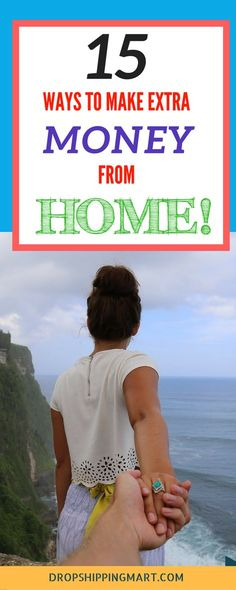 Are you looking for legitimate work from home jobs? Take a look at these 15 home-based side hustles you can start now, that you can make money from home.
