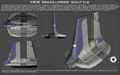 Maxillipede Shuttle ortho [New] by unusualsuspex.deviantart.com on @DeviantArt