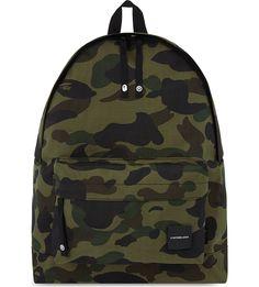 39d6399e3d038 A BATHING APE Camo print Cordura® backpack