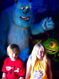 Monsters Inc display at the Volo Auto Museum, Volo, IL.   www.volocars.com
