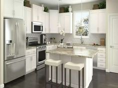 More ideas below: Small L Shaped Kitchen With Island Floor Plans Galley L Shaped Kitchen Layout Design Farmhouse L Shaped Kitchen With Peninsula Tiny L Shaped Kitchen Remodel Ideas L Shaped Kitchen With Pantry and Bar Kitchen Designs Layout, Kitchen Remodel, Modern Kitchen, Contemporary Kitchen, Small Kitchen Layouts, Kitchen Layouts With Island, Home Kitchens, Kitchen Layout, Kitchen Renovation