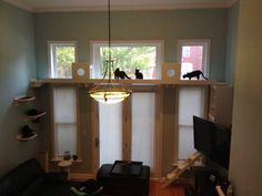 ネコ好きのために素敵なキャットタワー・キャットウォークを集めてみました。頭の上をネコの歩きまわるお部屋を想像してみては? 猫ブームにちなんで大特集!