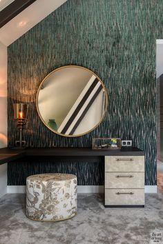 High end interieur Modern Bedroom Design, Master Bedroom Design, Modern Bedrooms, Small Bedrooms, Bedroom Themes, Bedroom Decor, Bedroom Wall, Wall Decor, White Bedroom Furniture