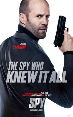 Movie - Spy - Starring: Jason Statham