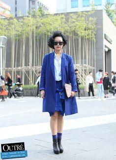 At Seoul Fashion Week… No Jihee