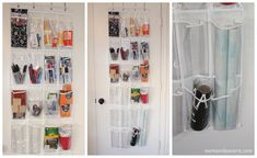 This post may contain affiliate links! My last house was small. RIDICULOUSLY small. And I have crafthoarderitis–so I had to get reallllll creative with my storage ideas! I quickly realized that the backs of door had lots of space that could be utilized with a $9 over the door shoe organizer! SO MANY IDEAS! from the …