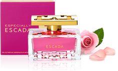 Especially Escada es una lujosa y brillante fragancia floral y sutil; inspirada en la mujer que irradia feminidad http://www.entrebellas.com/6-fragancias-que-no-puedes-dejar-de-usar/