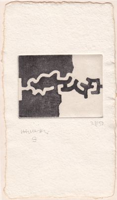 Eduardo Chillida Lasaitasun Drypoint on wove paper carton, 1983 x cm specimen Signed and numbered Print Artist, Artist Art, Collages, Collage Art, Bloodborne Art, Abstract Words, Contemporary Abstract Art, Printmaking, Paper Art