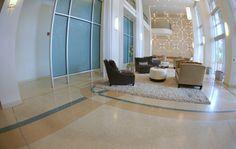 Project Name: The Paramount 415 Read more about this project on the Doyle Dickerson Terrazzo Portfolio page http://www.doyledickersonterrazzo.com/portfolio/hospitality/paramount-415/ #flooring #design #contractor #epoxy #terrazzocontractor #apartmenttherapy #apartment #interiordesign