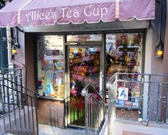 Alice's Tea Cup - Chapter 1 | New York City (upper west side). Whimsical decor.  Try the Pumpkin Scones and Indian Chai.