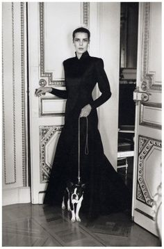Helmut Newton, Princess Caroline of Monaco, 1986