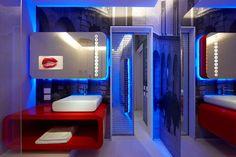 Futuristic Interior, Town @ House Street 9 Milans Four Boutique Hotel Suites Boasting Incandescent Design