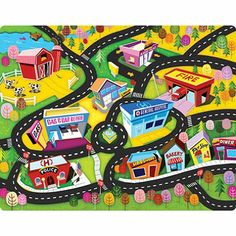13 Best Play Mats Images In 2013 Rugs Car Play Mats