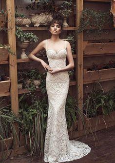 Spaghetti strap Julie Vino 2017 Wedding Dresses | itakeyou.co.uk #weddingdress #weddinggown #bridalgown #bridaldress