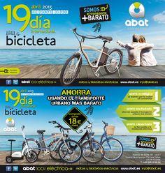 """Propuesta Flyer 19x10 """"Día Internacional de la Bici"""""""