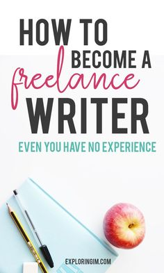 Just how to become a freelance writer even you have no experience. My 6 step guide to starting your freelance writing career. Make Money Writing, Writing Advice, Way To Make Money, Blog Writing, Creative Writing, Writing Courses, Fiction Writing, Writing Ideas, Writing Skills