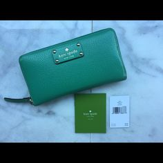 Kate Spade Wellesley Wallet EUC gorgeous real Wellesley Kate Spade Wallet. kate spade Bags Wallets