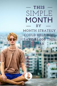 Want to add an extra $5,000 to your savings this year? Try one of these 12 ways to save money each month to bank some cash! /thepennyhoarder/