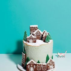 Snowy Christmas Cake recipe on Food52