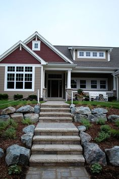 Traditional Exterior Photos Craftsman Design Ideas, Pictures, Remodel, and Decor - page 23