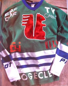 5f553f606 Vintage squirrel hockey jersey Hockey Goalie