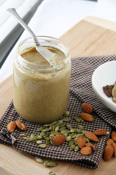 pumpkin seed almond butter