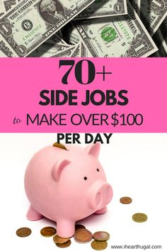 Side Hustles: My Ultimate List of 75 Ways to Earn Extra Money! Cash Today, Make Money Today, Make More Money, Make Money From Home, Make Money Online, Earn Extra Income, Earn Extra Cash, Extra Money, Money Hacks