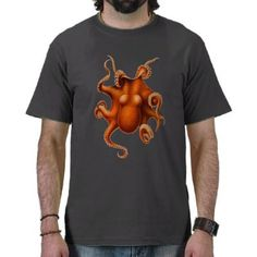 Octopus - orange $23.95